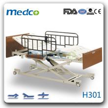 H301 drei Funktionen elektrisch Hi-low homecare Krankenhaus Patientenbett