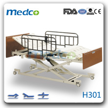H301 три функции электрический Hi-low homecare больница кровать пациента