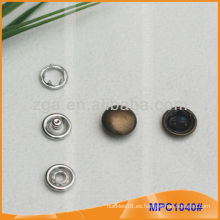 Prong Snap Button / Pinza con tapa de metal de moda MPC1040