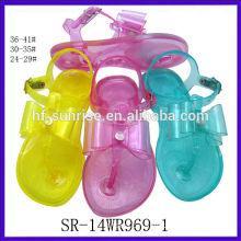 SR-14WR969-1 fashion new kids jelly sandals plastic sandals wholesale kids jelly sandals