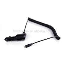 Car Charger Fast USB car charger Coiled Retractable with Smart-IQ Technology for Samsung Galaxy note3