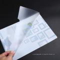 Atacado personalizado impresso PVC livro capa de plástico Livro pasta em Guangzhou