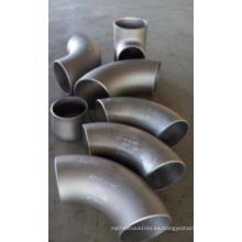 Codo de acero inoxidable de 90 grados