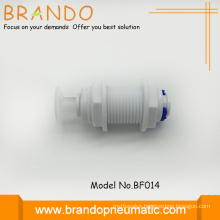 White Color Quick Coupling Buik Head Adapter