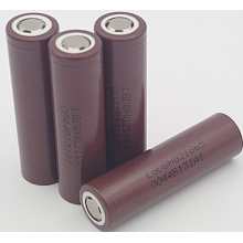 Military Flashlight Battery 18650 LG HG2 3Ah (18650PPH)