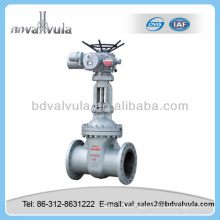flange end motorized cuniform gate valve