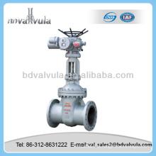 Válvula de porta cuniforme motorizada