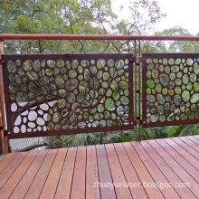 Corten Steel Balustrade Panels
