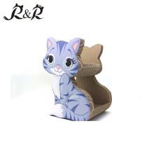 El gato de dos lados tiene gusto de la madera El gato vendedor caliente de los muebles del gato que vende el poste ACS-6002