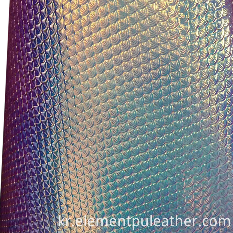 0.6mm Recycle Shiny PU Leather