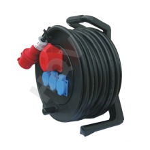 manual 50m cable reel retractable cord reel