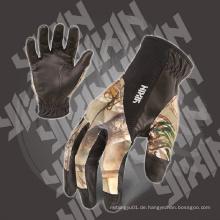 Arbeitshandschuh-PU Handschuh-Handschuh-Camo Handschuh-Mechaniker Handschuh-Sicherheitshandschuh-Arbeitshandschuh