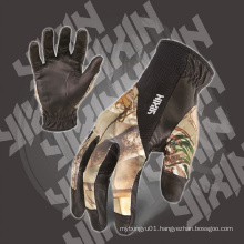 Work Glove-PU Glove-Gloves-Camo Glove-Mechanic Glove-Safety Glove-Labor Glove