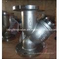 150-литровый Y-фильтр с углеродистой сталью с фланцевым концом