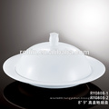 Restaurant & Hotel ceramic soup cup,good quality chinese white porcelain soup cup, new designed Crockery