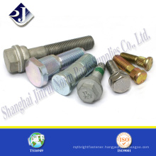 Hot sale zinc finished wheel bolts All thread wheel bolts Grade 10.9 hub wheel bolts