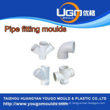 TUV assesment mold factory / Standard size pipe fitting mold in taizhou China