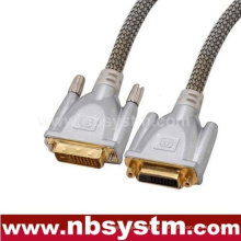 DVI-Stecker auf VGA-Buchse + 3RCA Buchse Adapterkabel