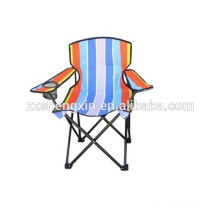 Outdoor Folding Metal Chair, Backrest Camping Chair
