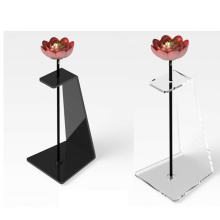 Customized Acrylic Flower Stand  Display  Holder For Home