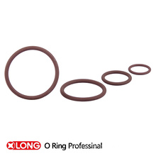 Felxible Good Quality FKM Green Rubber O Rings for Damper