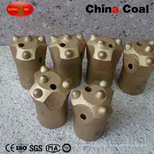 Tungsten Button Spherical Taper Thread Button Insert Rock Drill Bit