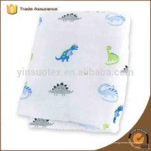 "Kids cartoon Muslin fibre de bambou Newborn Baby Bath Towel Swaddle Blanket 47 ""* 47"""