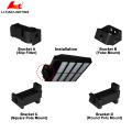 UL DLC Haute qualité 350W LED Réverbère IP65 imperméable à l'eau conduit rue lumière prix liste 5 ans de garantie