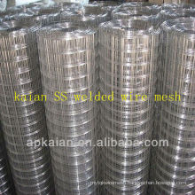 hebei anping kaian 50x100mm stainless steel welded wire mesh