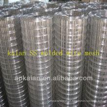 Hebei anping kaian malha de arame soldada de aço inoxidável 50x100mm