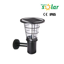 China suppliers lighting CE solar LED outdoor wall light for garden light