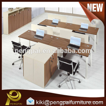 Four seater modern simple office partition design