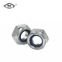 factory sales zinc plated nylon lock nuts