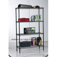 Chrome Metal Wire Shelving Rack 800lbs Per Shelf (CJ9035150A4E)