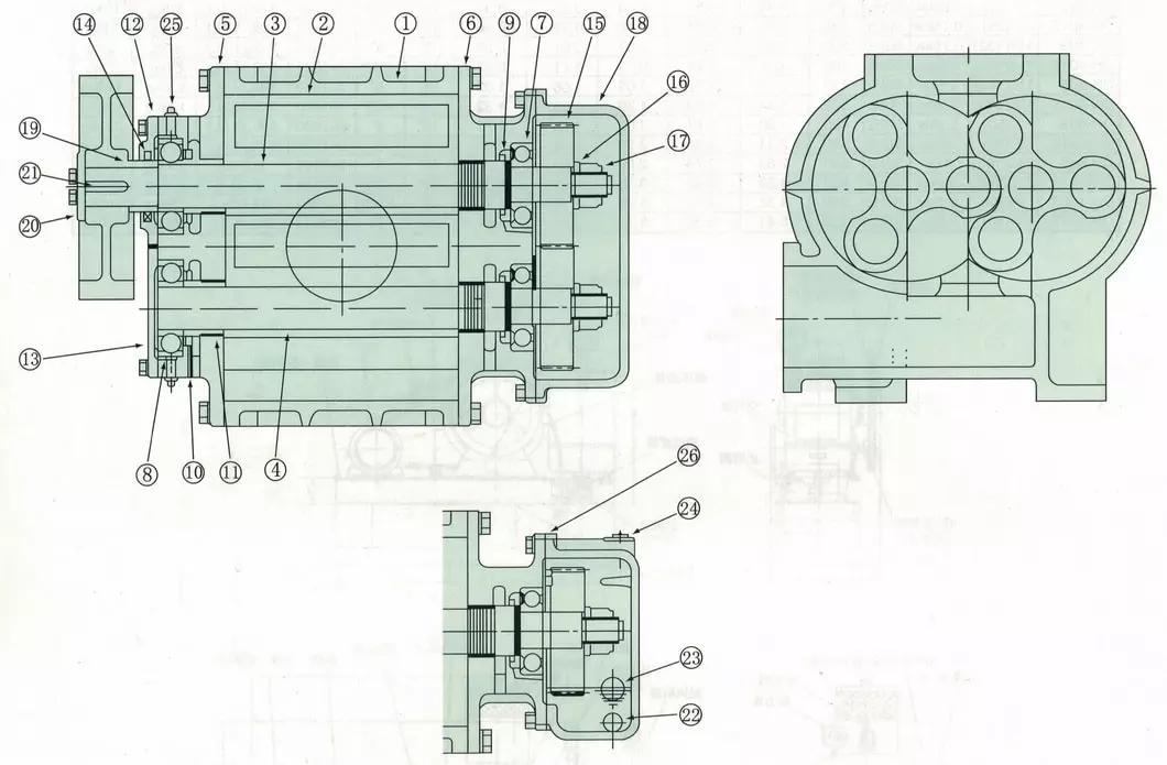 Blower Structure Diagram.webp