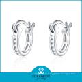 925 Sterling Silver Hoop Earrings for Women (E-0029)