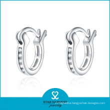 925 Sterling Silver Hoop Earrings for Women (E-0029)
