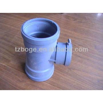 ПВХ водопроводные дренажные штуцера трубы прессформы впрыски