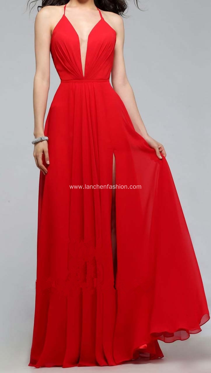 Gorgeous Red Prom Dress Ball Gown