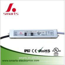 salida única DC24v 24w voltaje constante led controlador para la luz de flash led