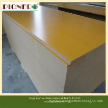 Competitive Price 15mm-18mm Melamine MDF Board for Furniture Decoration