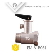 EM-V-B061 Calentador de agua eléctrico Válvula de seguridad de latón Válvula de alivio de presión
