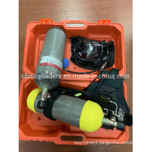 6.8L Air Breathing Apparatus Cylinder Set for Fire Fighting System