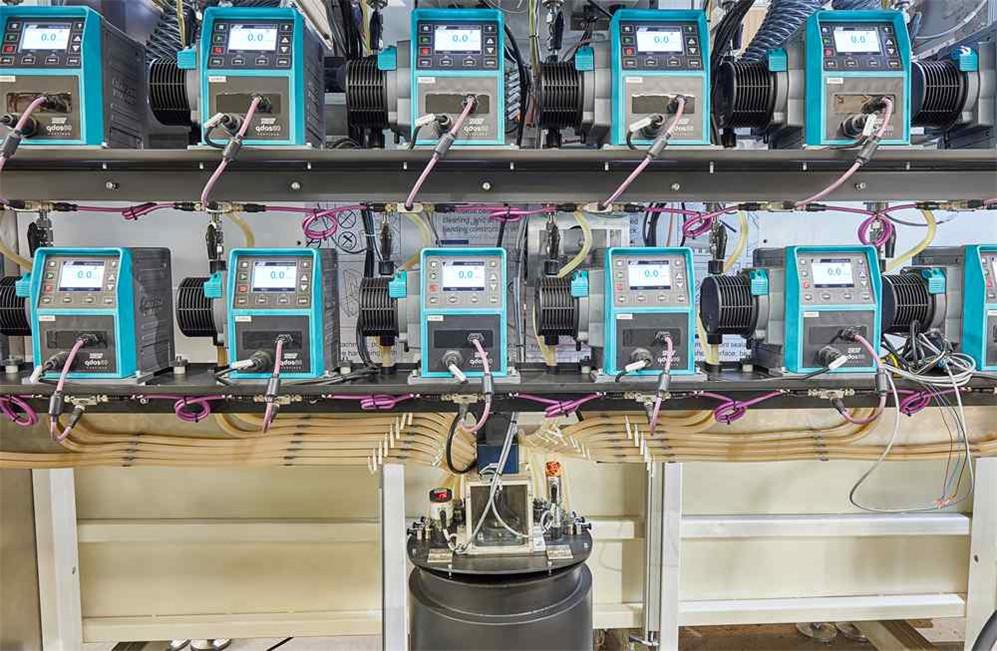 varnishing pumps