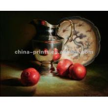 Pintura a óleo mediterrânea de Apple