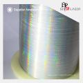 Полиэстер материала Серебряный металлик голографической пряжа