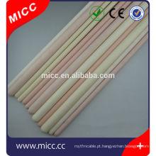tubo de cerâmica de alta pureza alumina industrial 99 al2o3