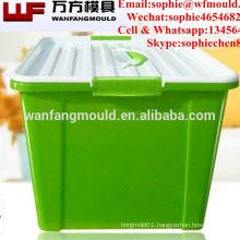 Hot Sale Low Price clothes storage box mold with high quality molde de cajas plasticas