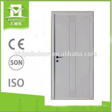 La última puerta de madera de la melamina moderna moderna de la venta caliente del diseño de lujo