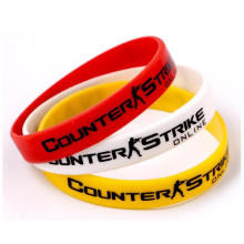 Customized World Cup Theme Silicone Wristband
